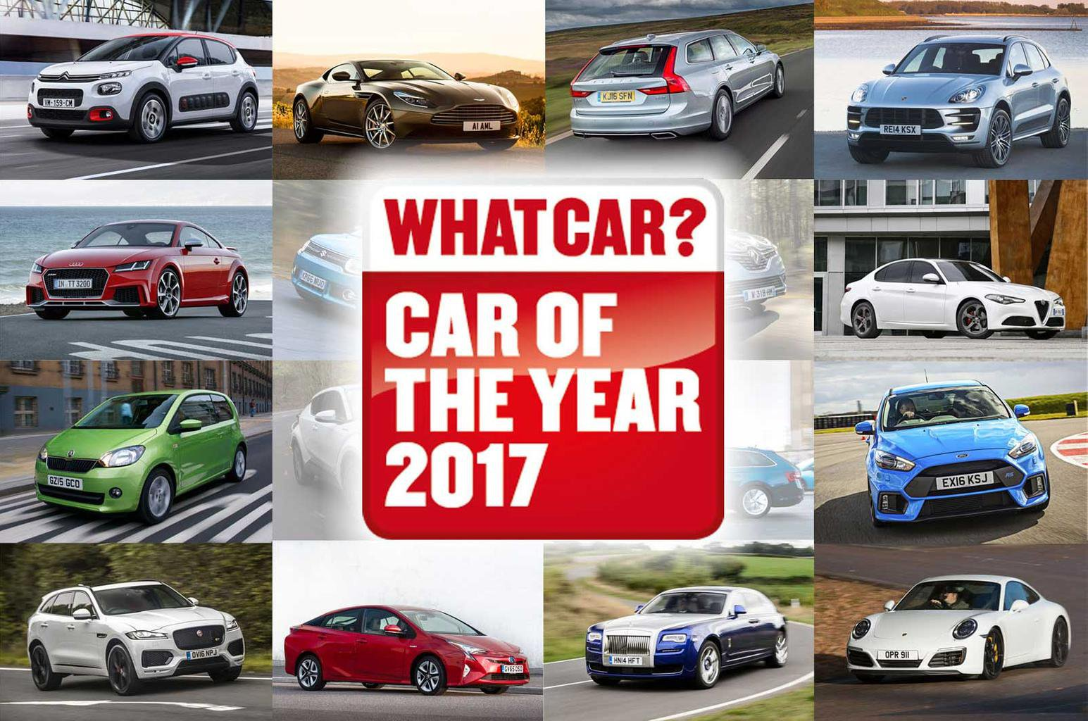 What Car? reveals nominees for Car of the Year Awards 2017