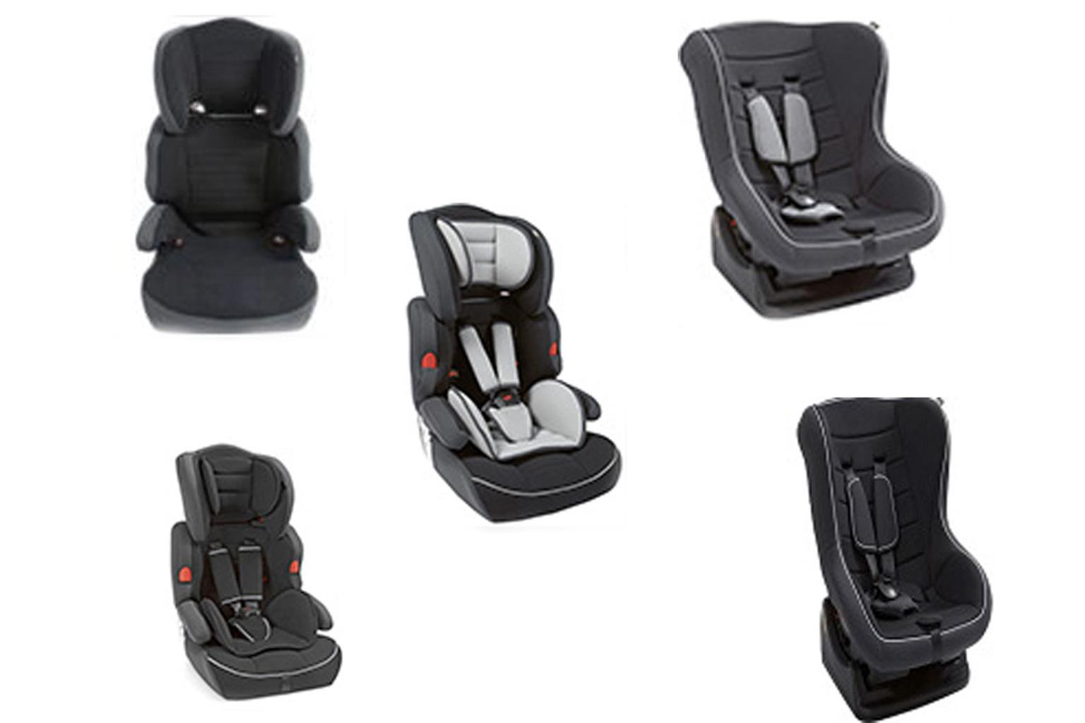 Argos recalls five child car seat models over safety fears