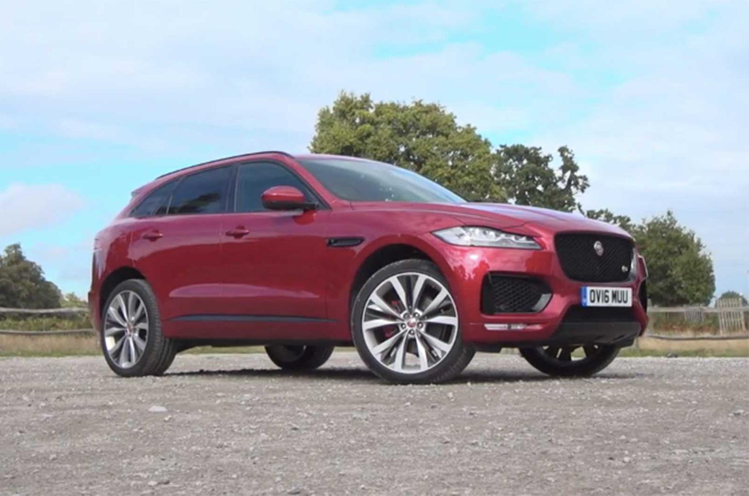 New Jaguar F-Pace reviewed on video