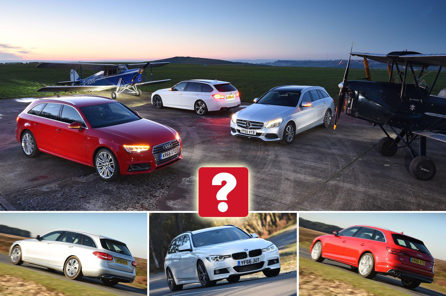 Audi A4 Avant Vs Bmw 3 Series Touring Vs Mercedes C Class Estate