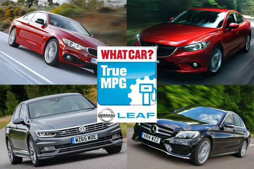 Real-world MPG: The most economical executive cars in 2016