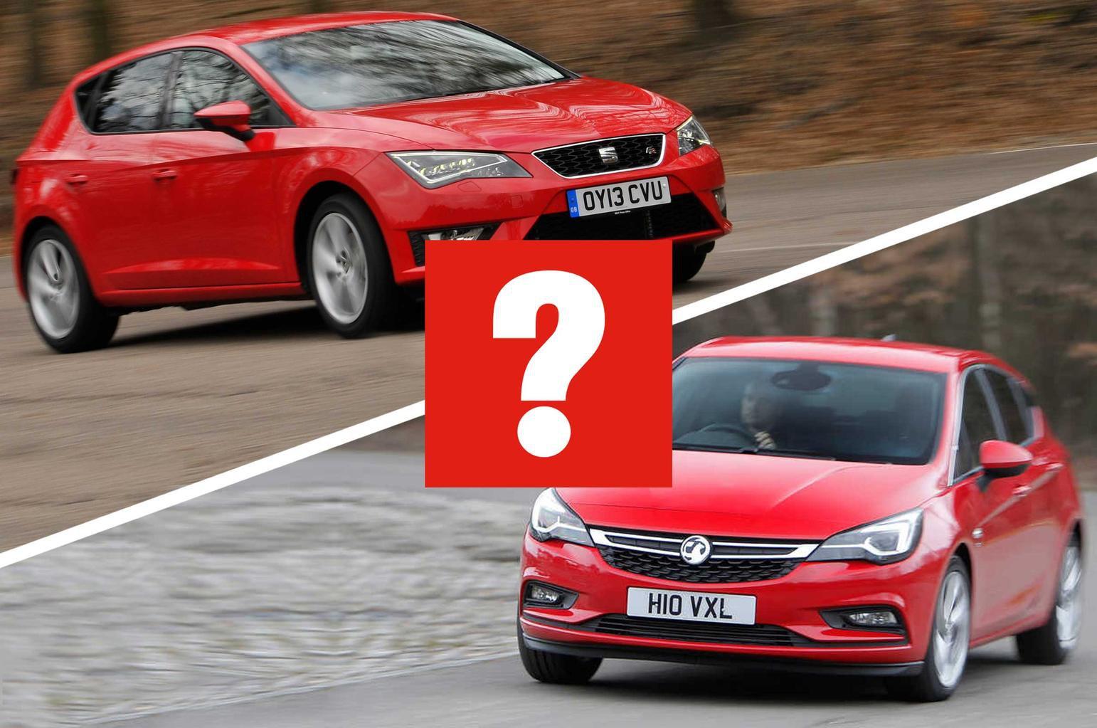 Seat Leon FR vs Vauxhall Astra SRi