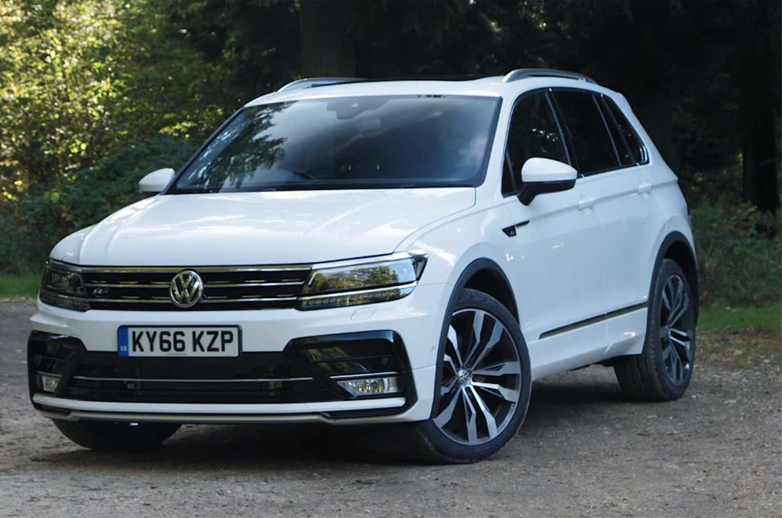 Volkswagen Tiguan reviewed on video