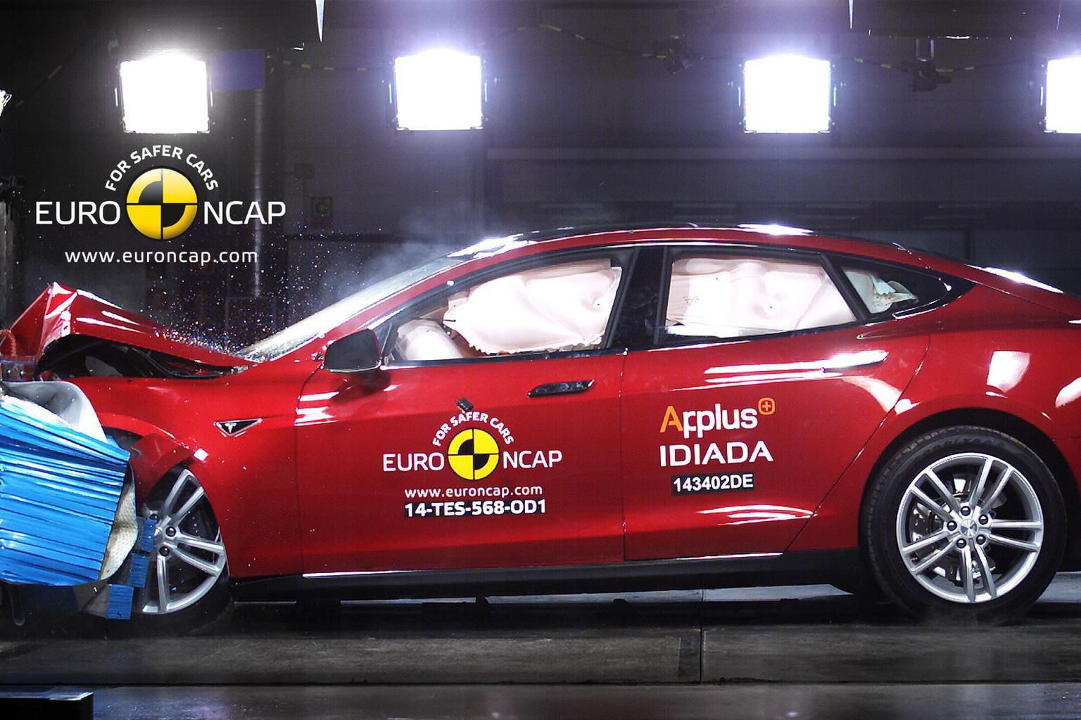 Top car crash ratings for Tesla, Skoda Fabia and Nissan Pulsar