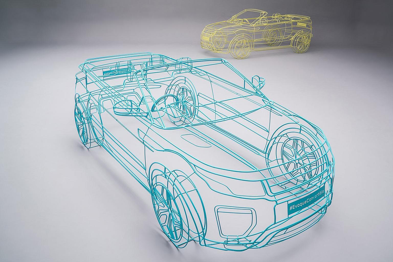 Range Rover Evoque Convertible previewed