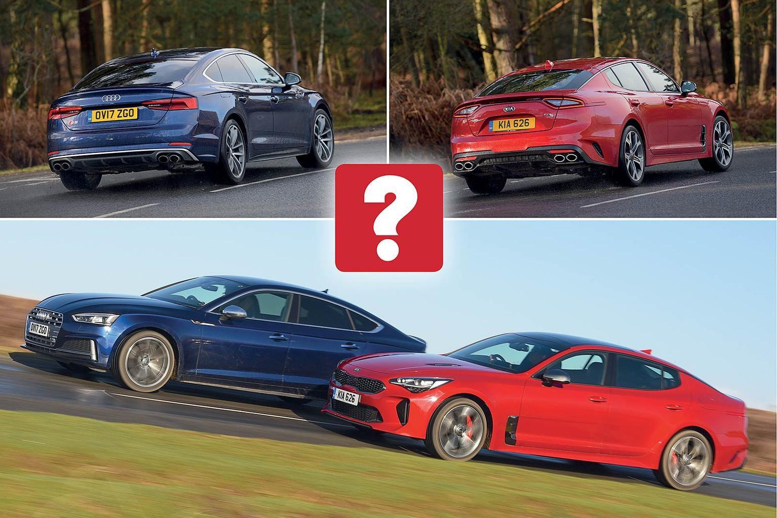 New Kia Stinger GT S vs Audi S5 Sportback