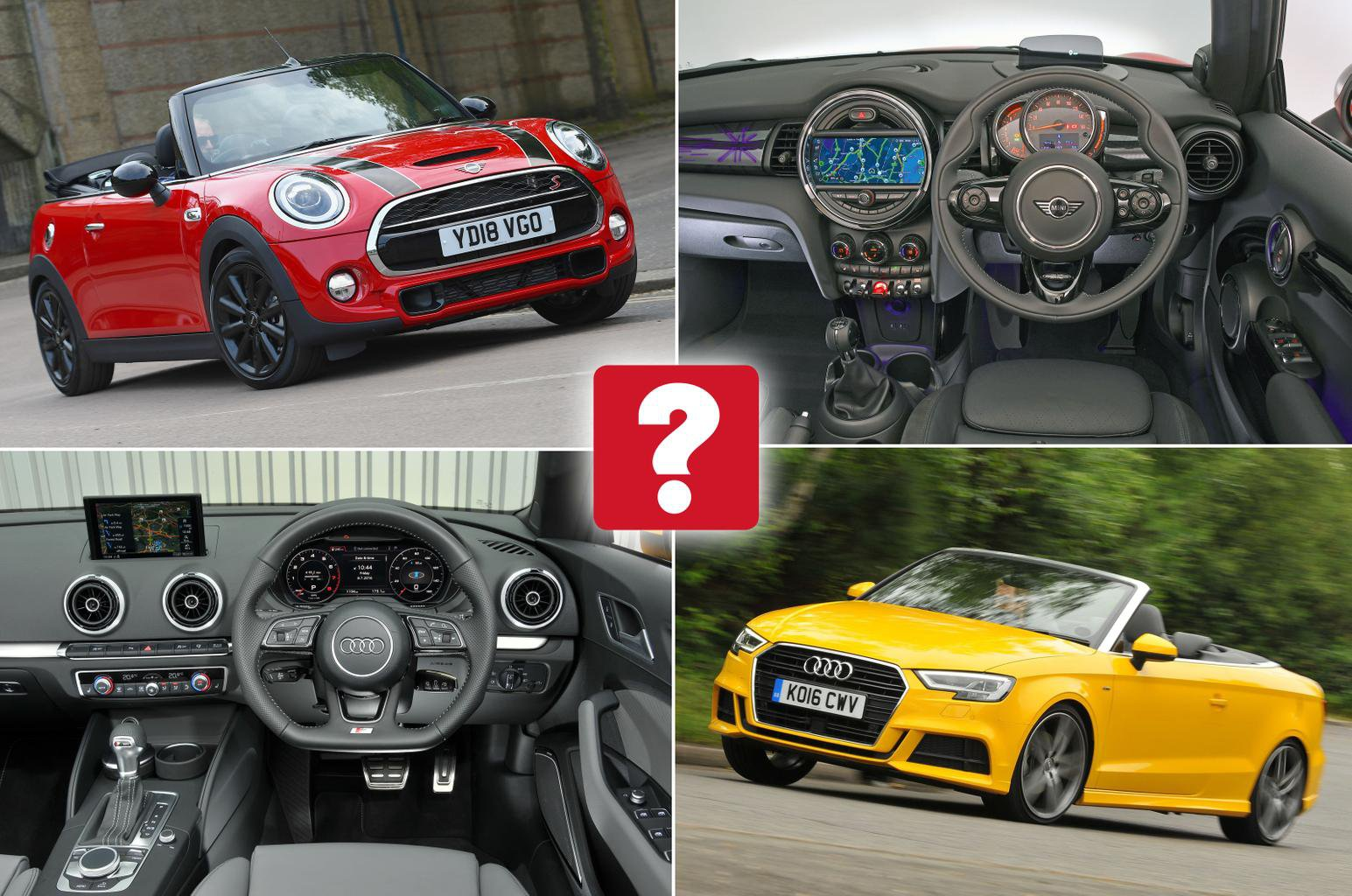 New Mini Convertible Vs Used Audi A3 Cabriolet Which Is Best