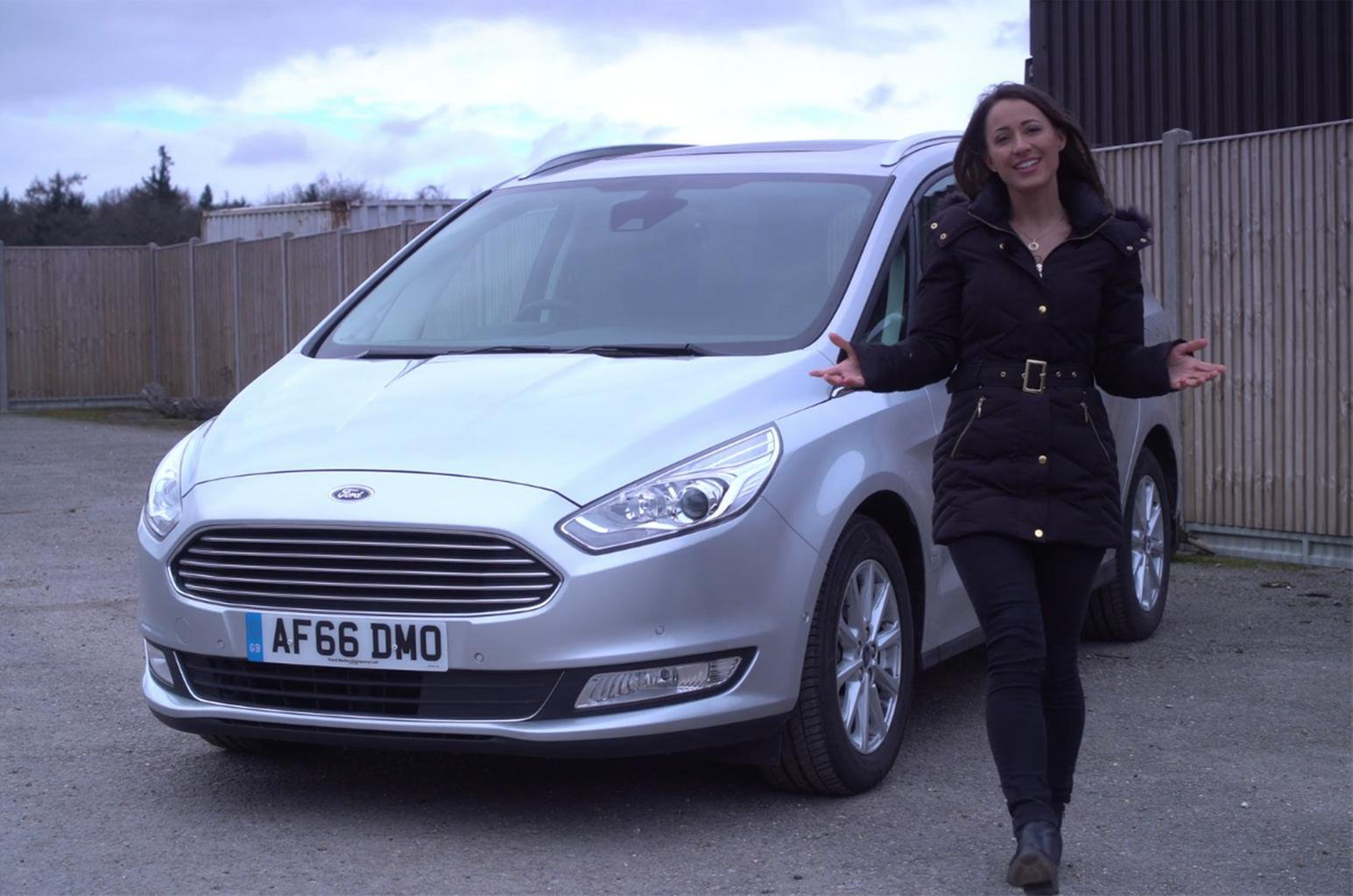 Ford Galaxy reviewed on video