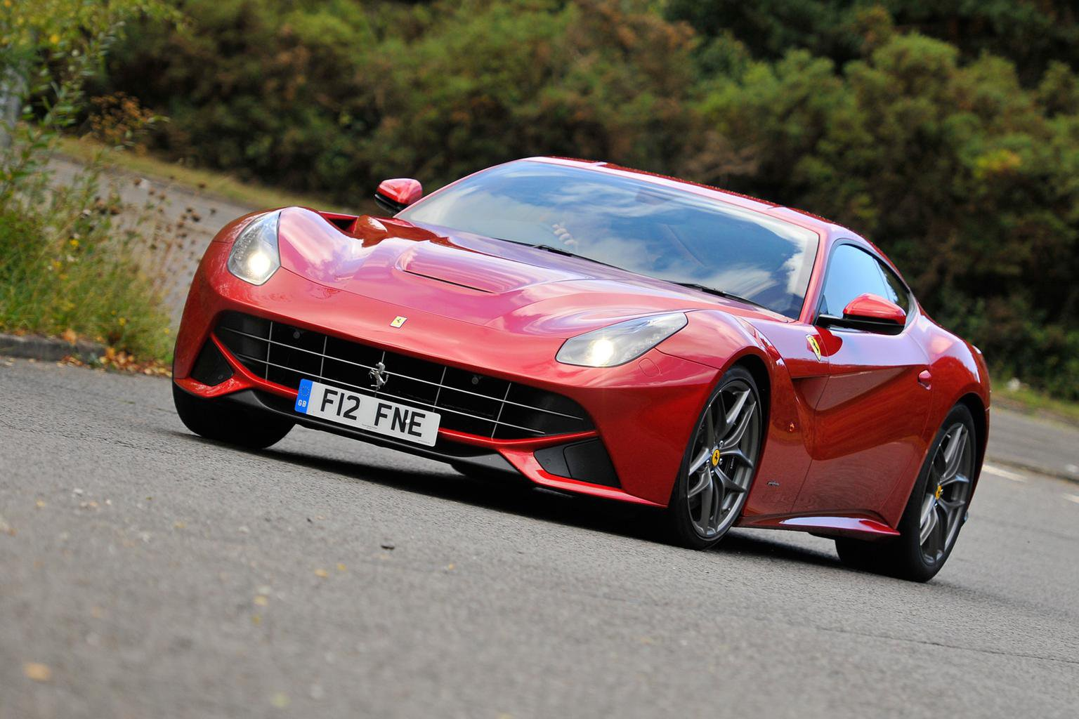 2013 Ferrari F12 review