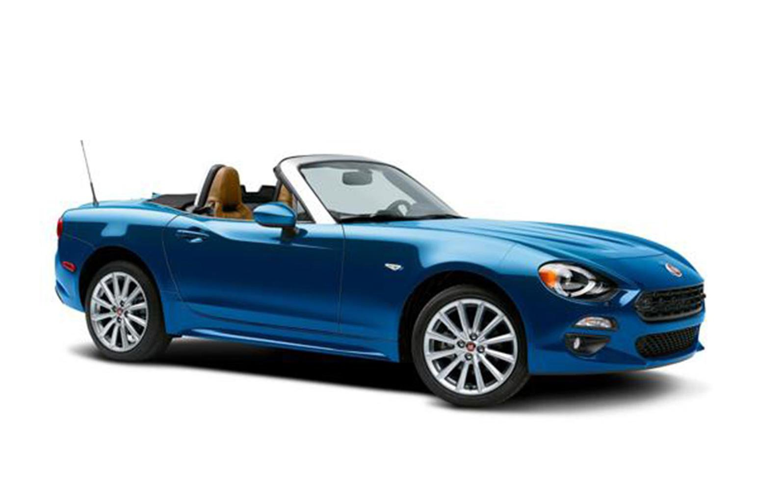 Fiat 124 Spider revealed - show pictures and details