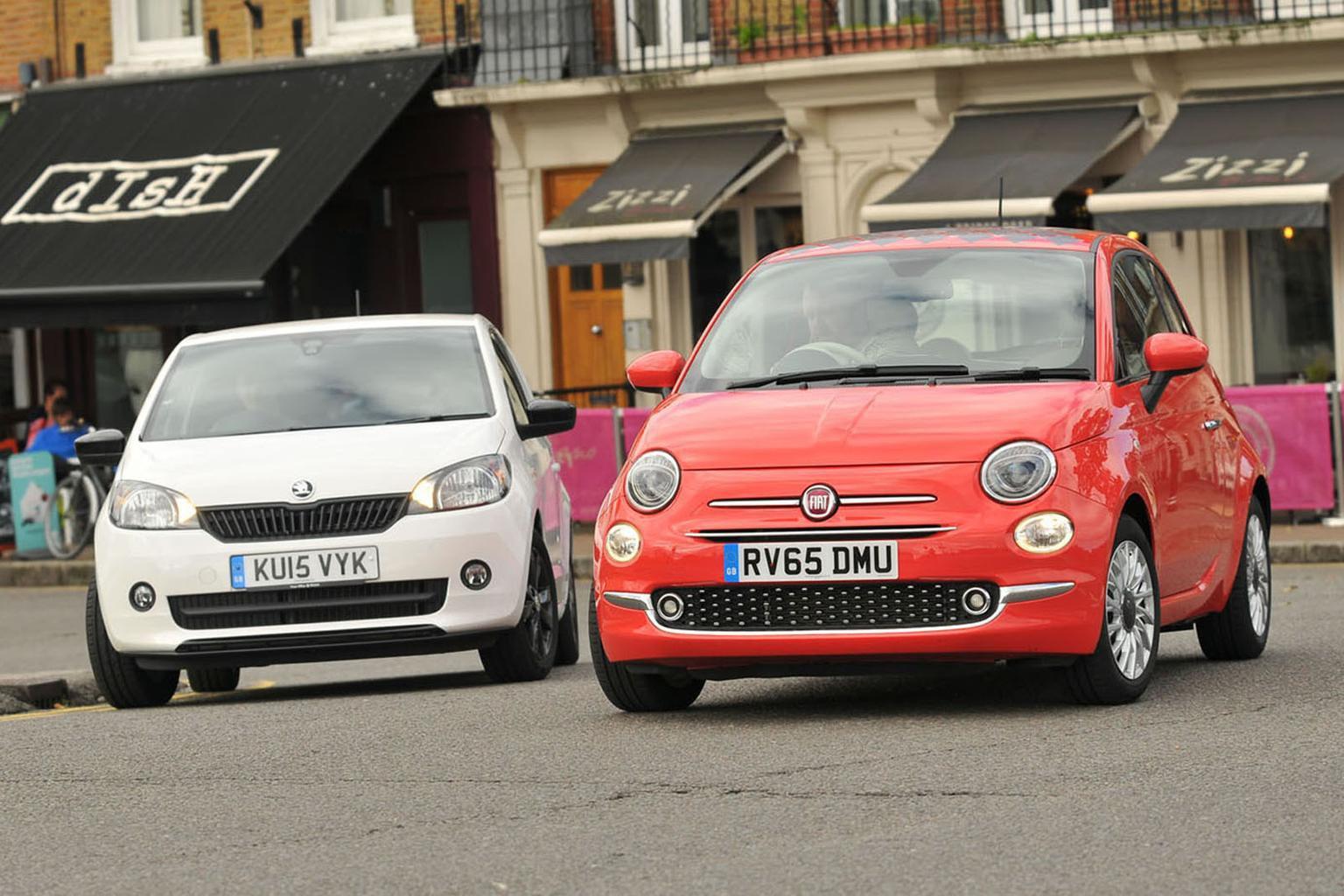 Fiat 500 vs Skoda Citigo
