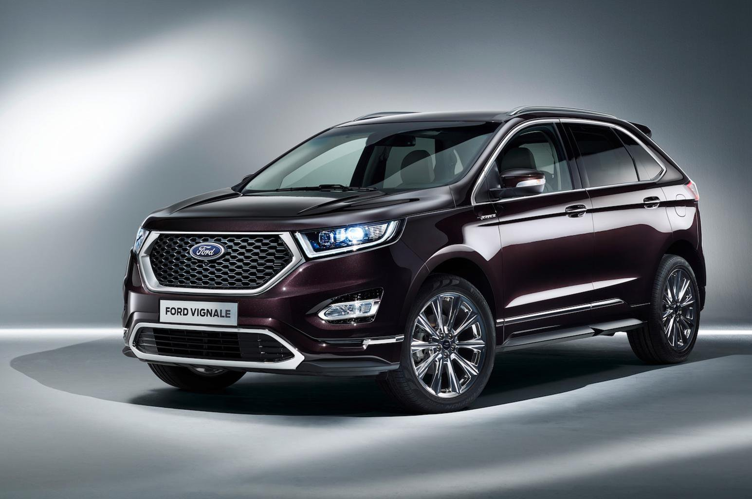 Ford reveals new Vignale line-up with Edge, Kuga and S-Max