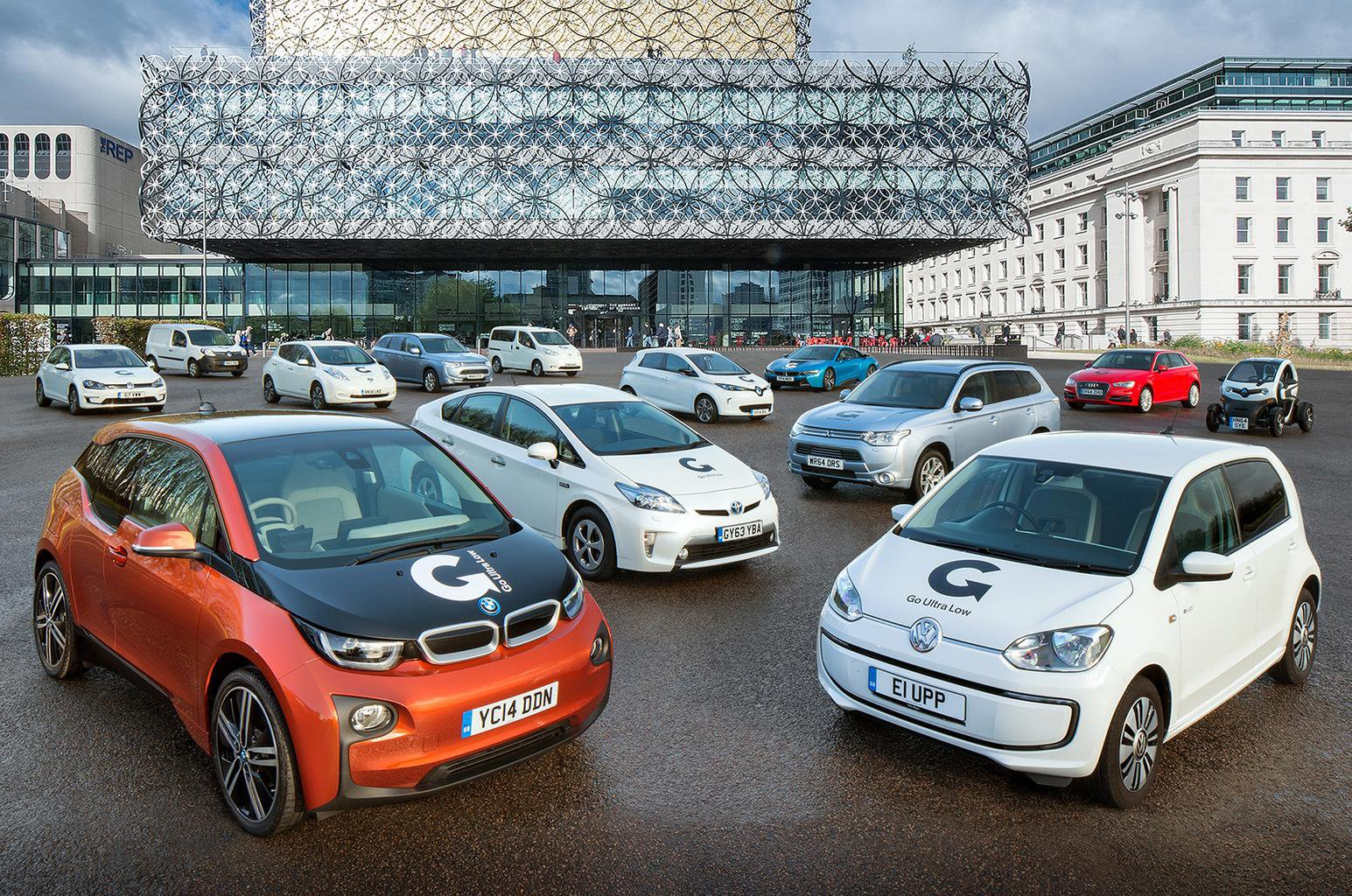UK cities receive 40m funding to support electric vehicles