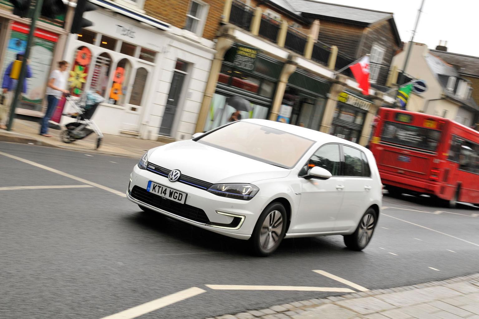 2014 Volkswagen e-Golf review