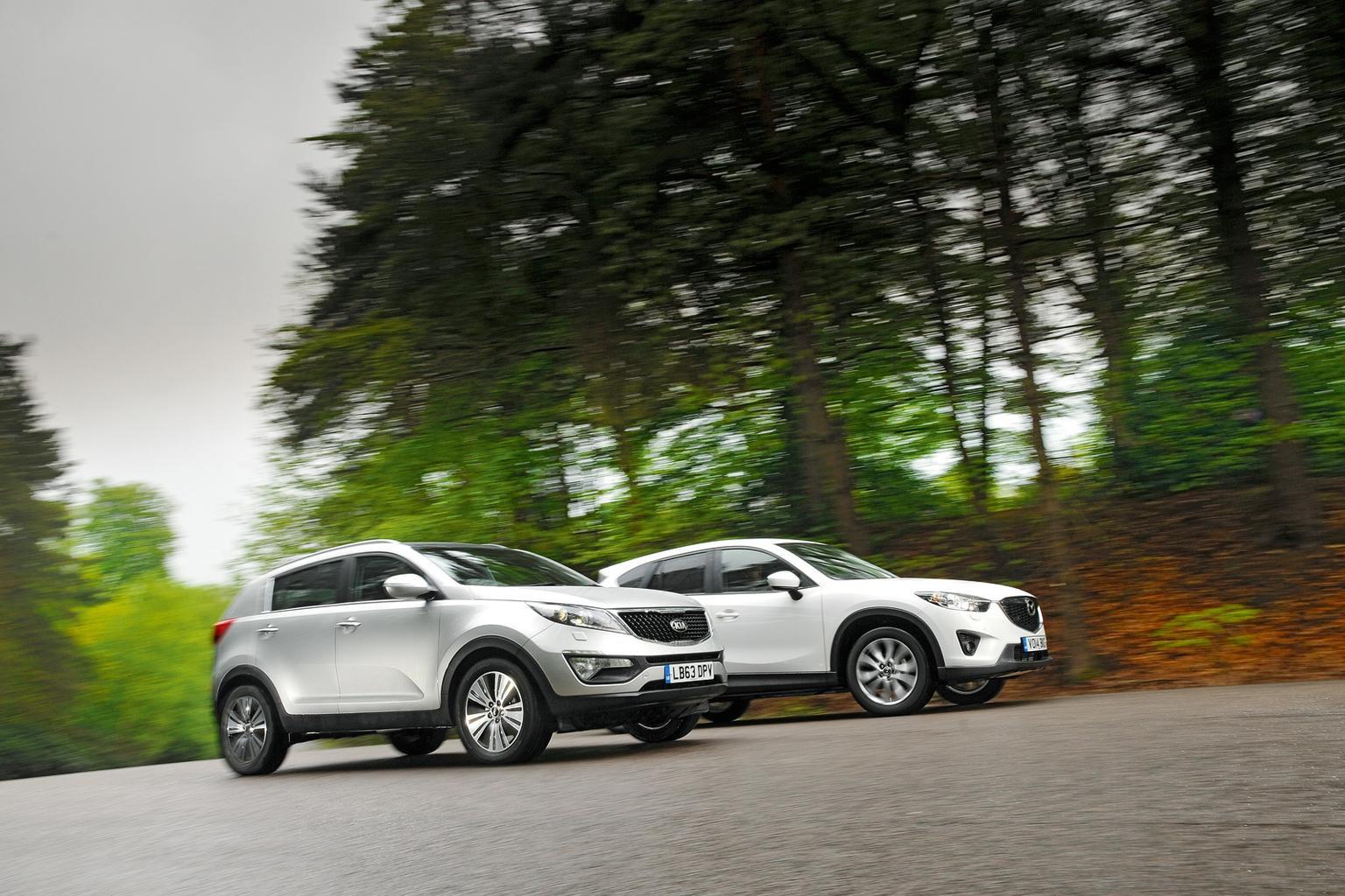Kia Sportage vs Mazda CX-5
