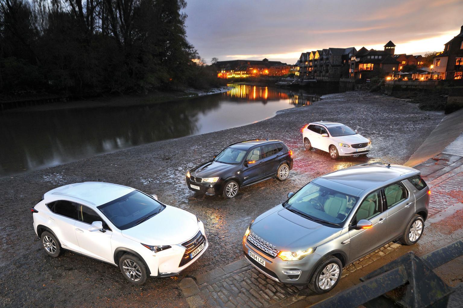 Land Rover Discovery Sport vs BMW X3 vs Lexus NX vs Volvo XC60