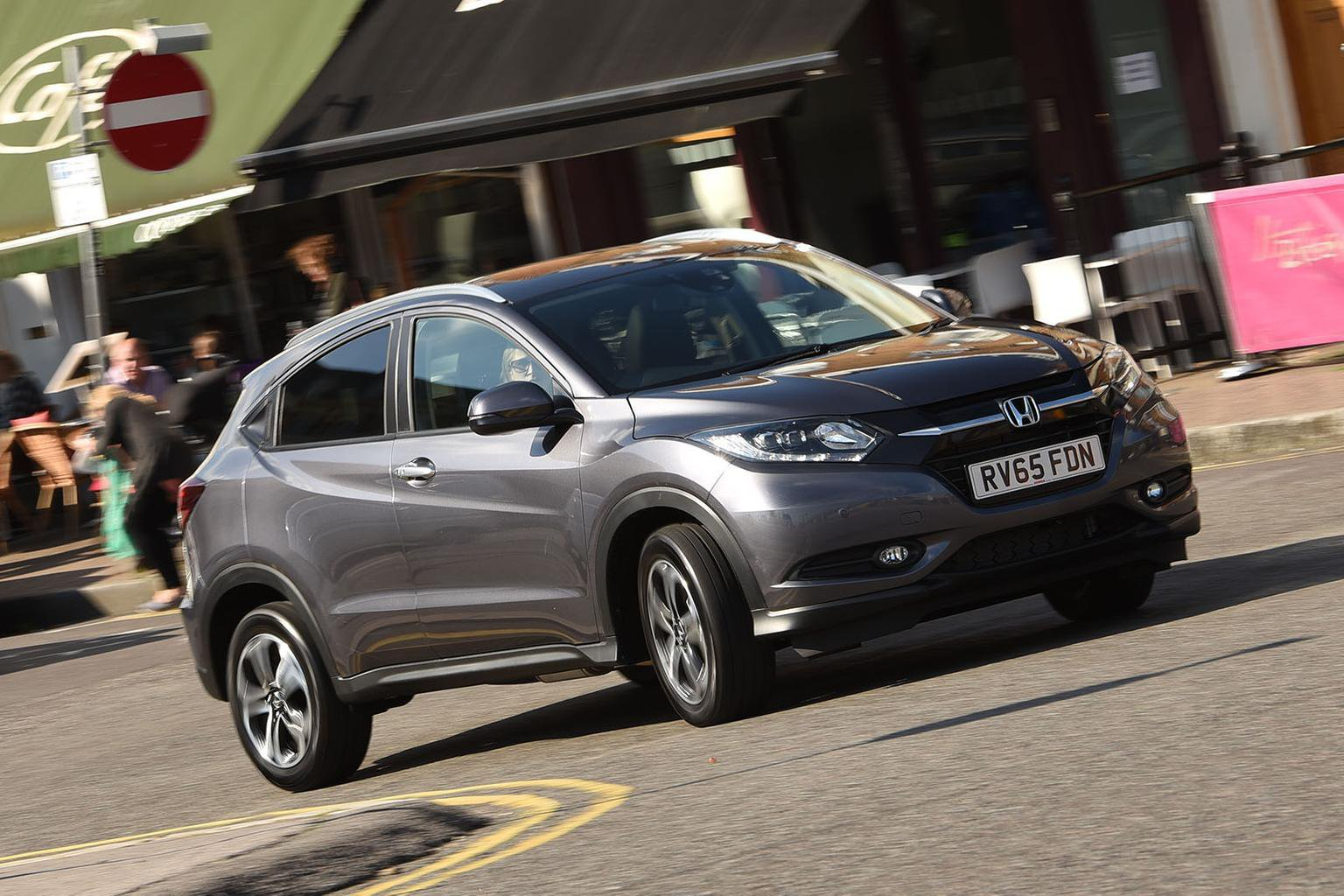 2015 Honda HR-V 1.5 i-VTEC CVT review