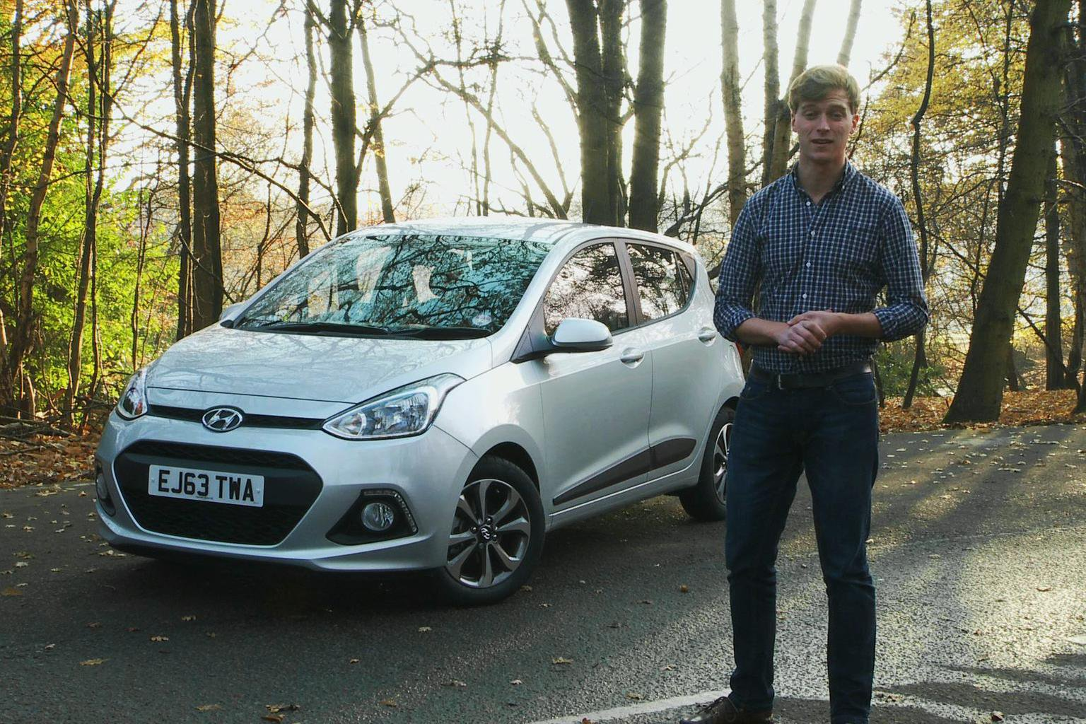 Hyundai i10 video road test