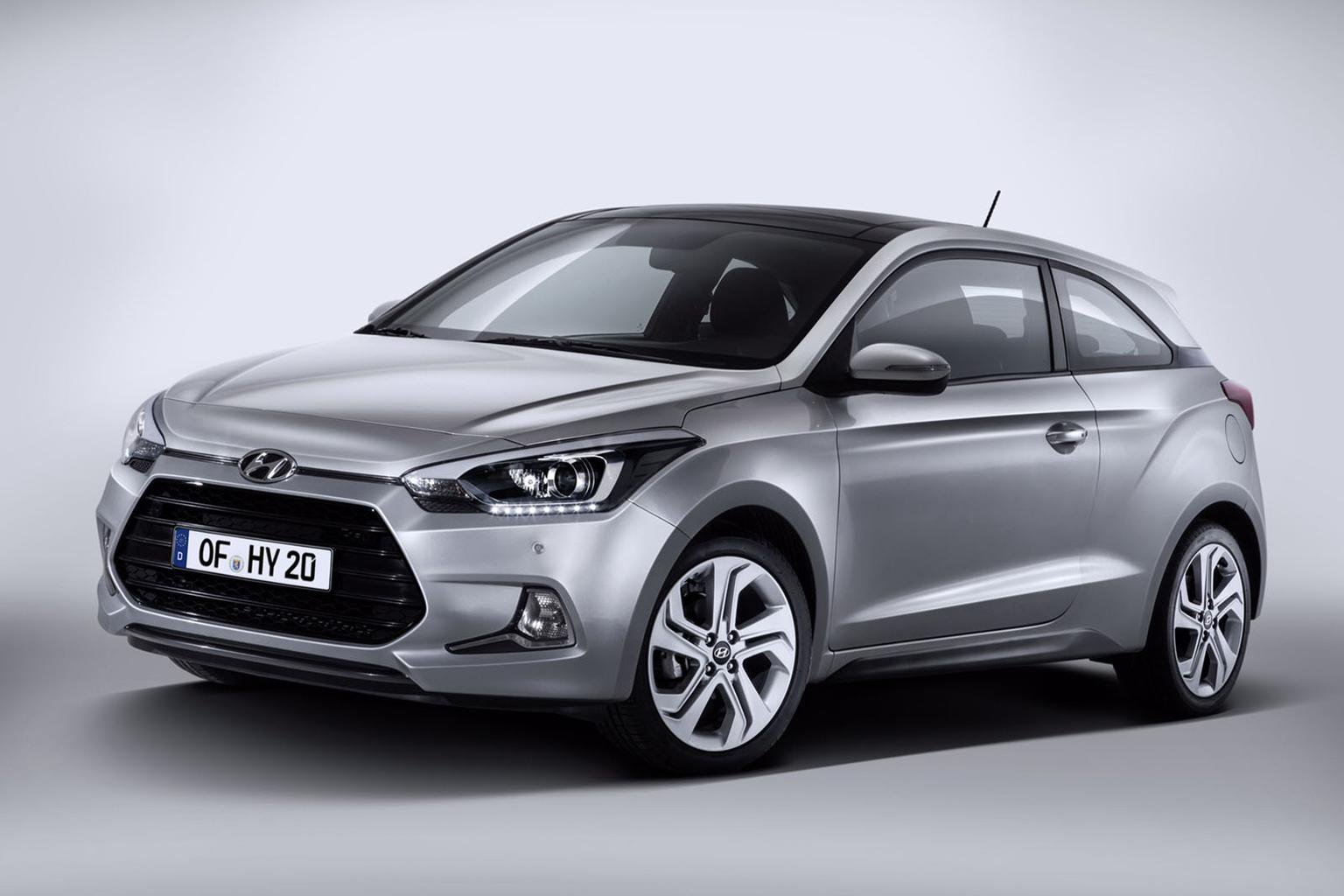 2015 Hyundai i20 Coupe revealed - new pictures, engines and on-sale date