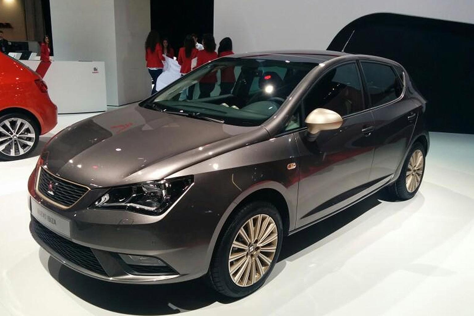 2015 Seat Ibiza facelift revealed