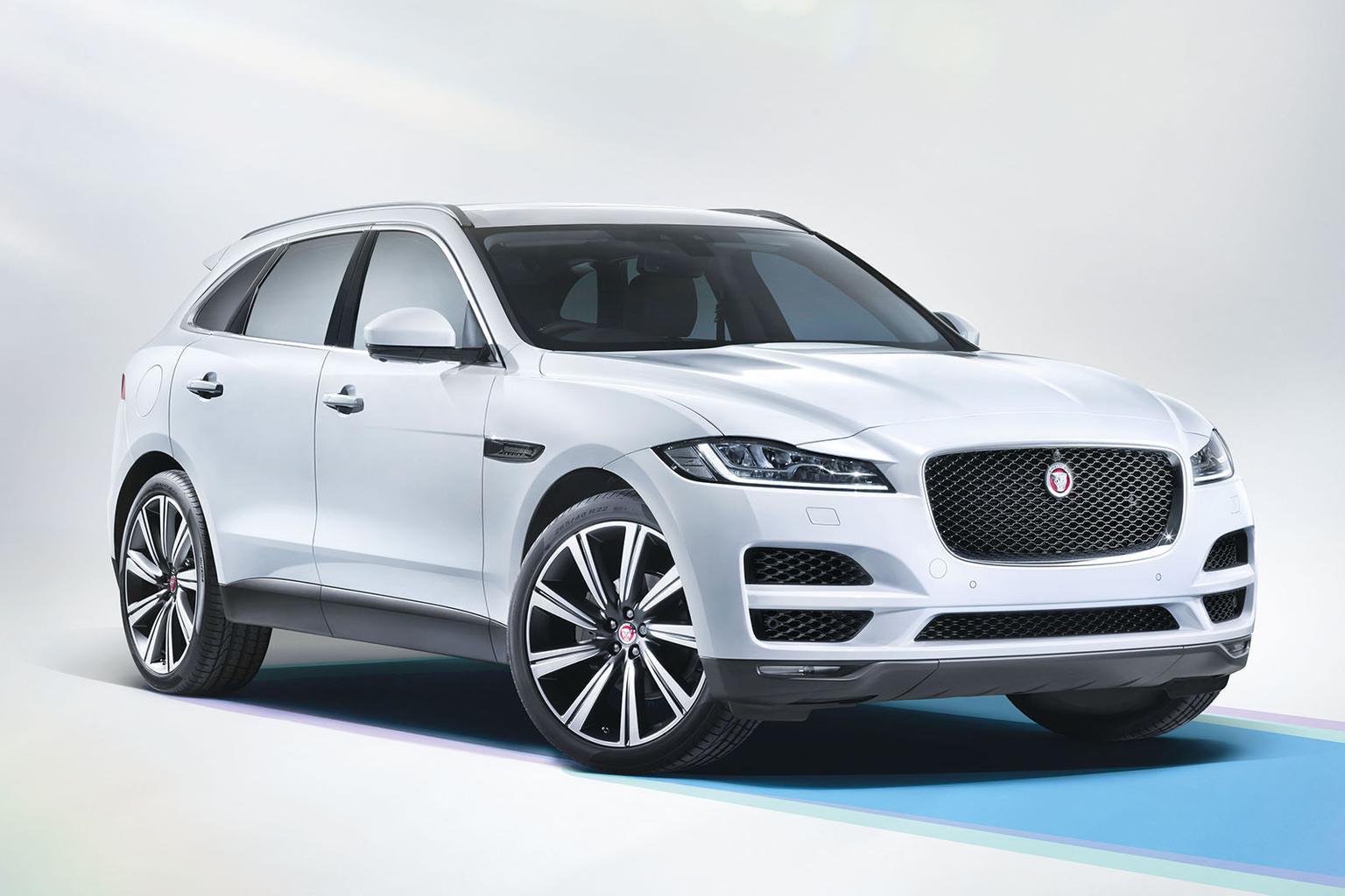 2015 Jaguar F-Pace revealed at Frankfurt motor show