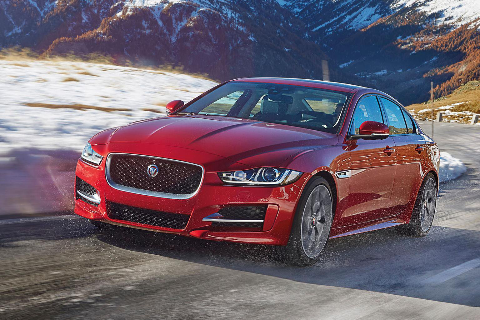 Jaguar XE gets new infotainment options and all-wheel drive