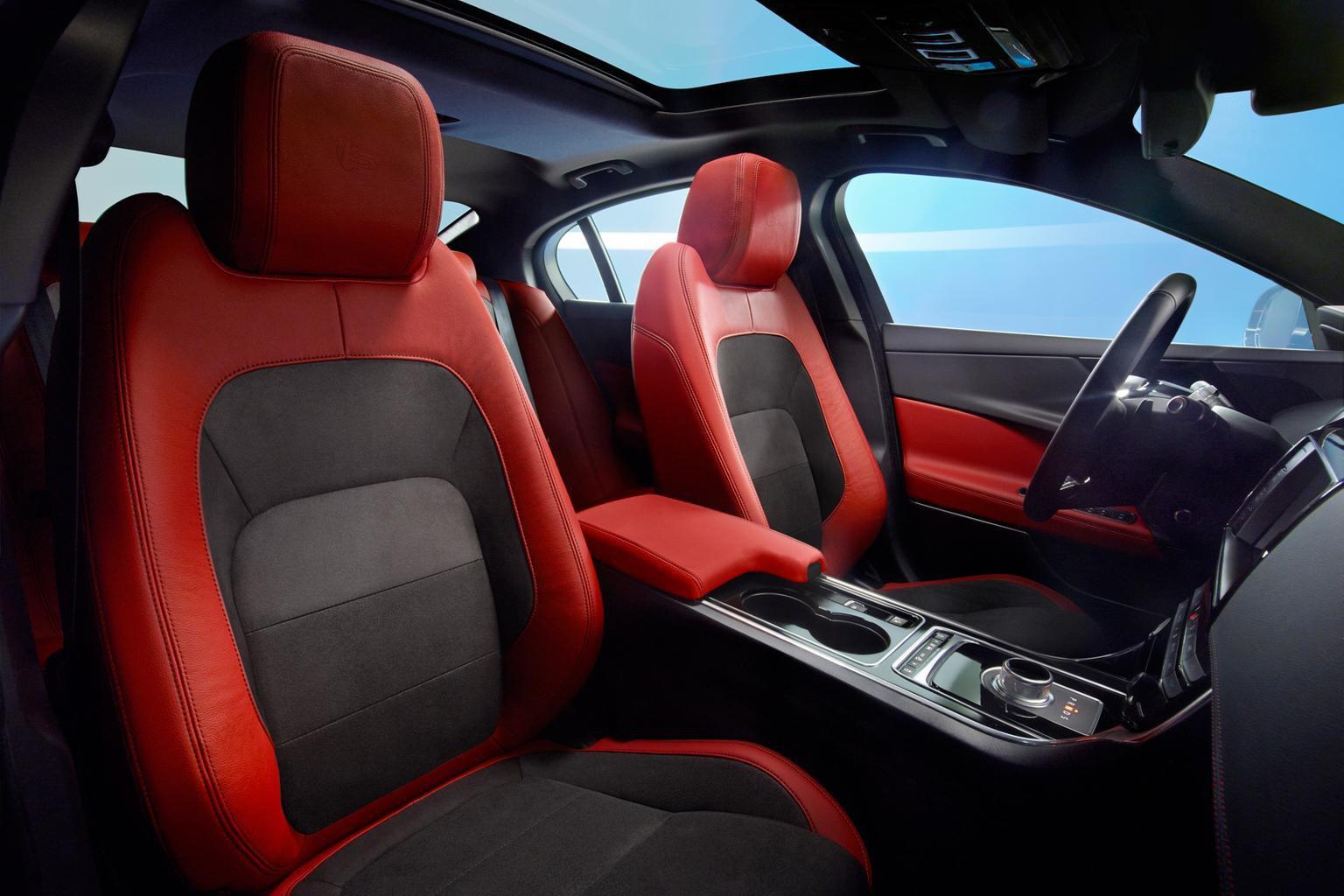 Inside the 2015 Jaguar XE