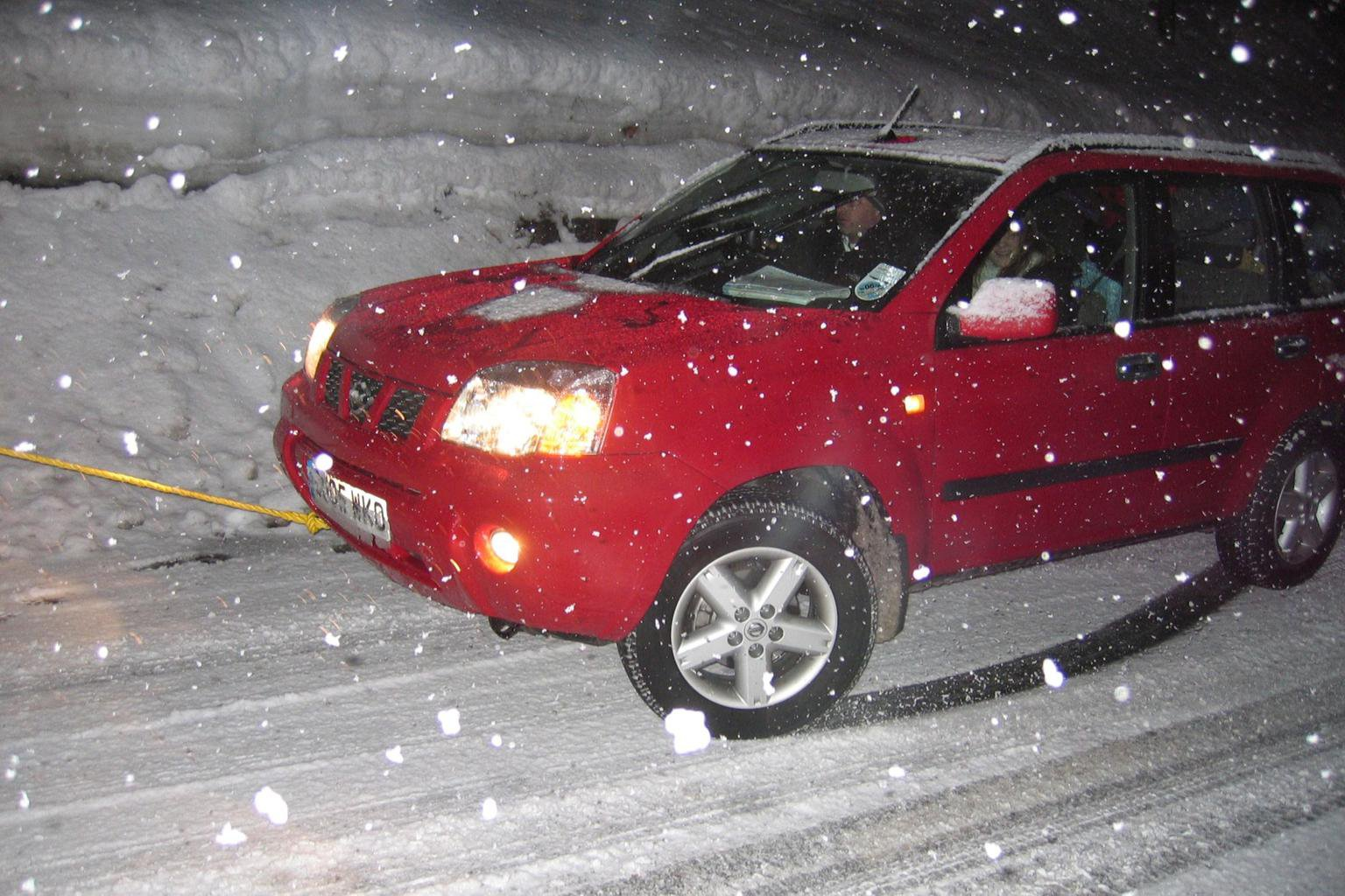 Driving in snow and ice this winter