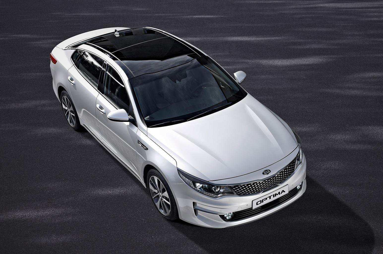 2015 Kia Optima revealed
