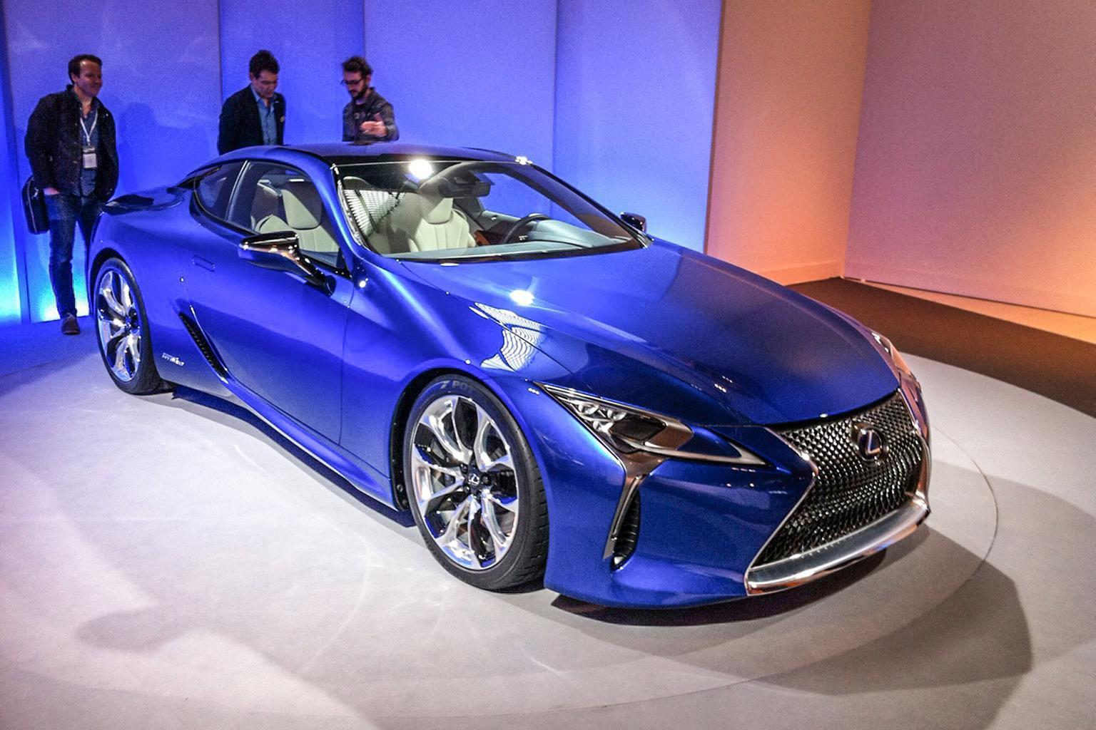 Lexus LC500h unveiled ahead of Geneva show
