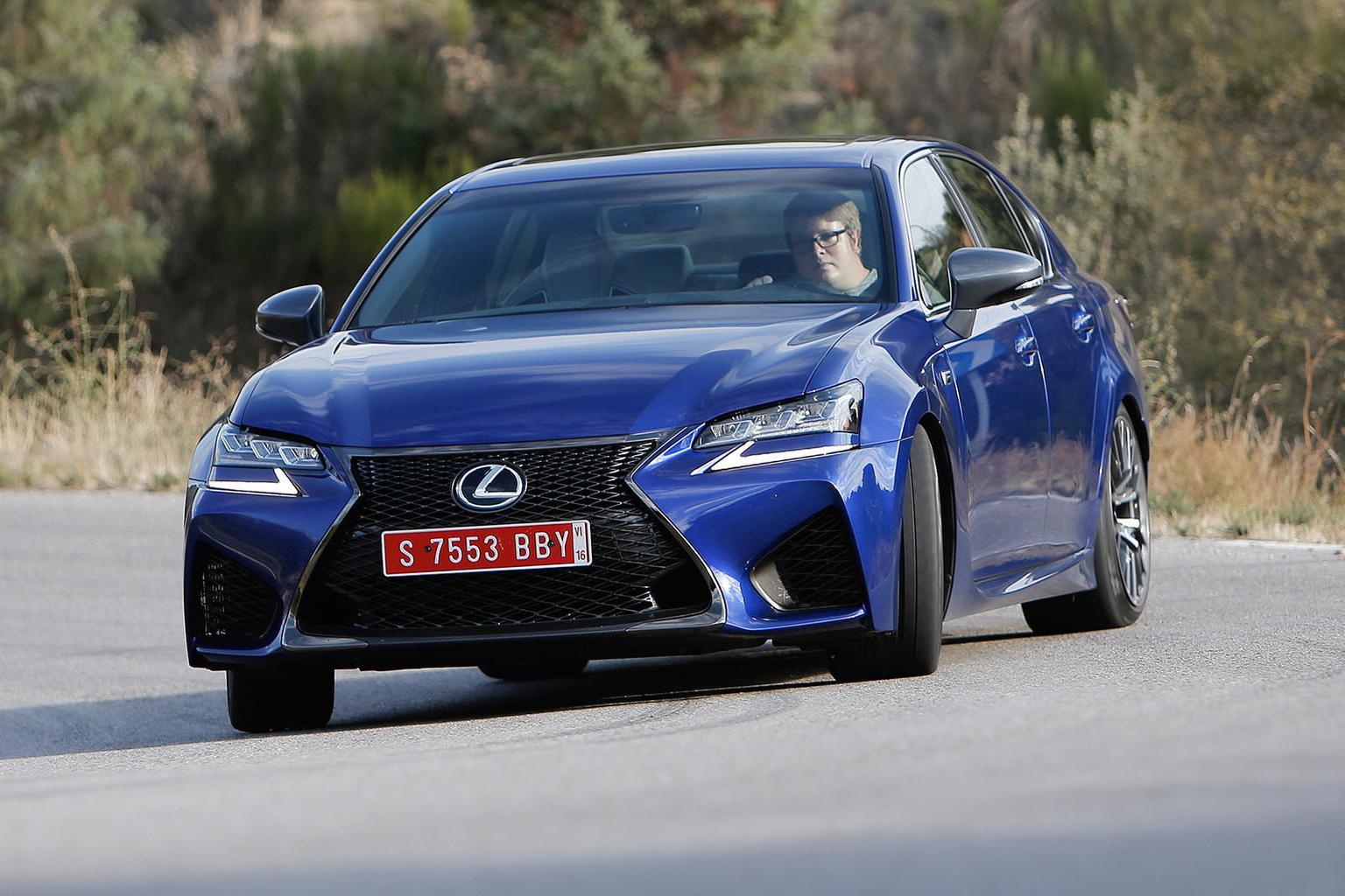 2015 Lexus GS F review