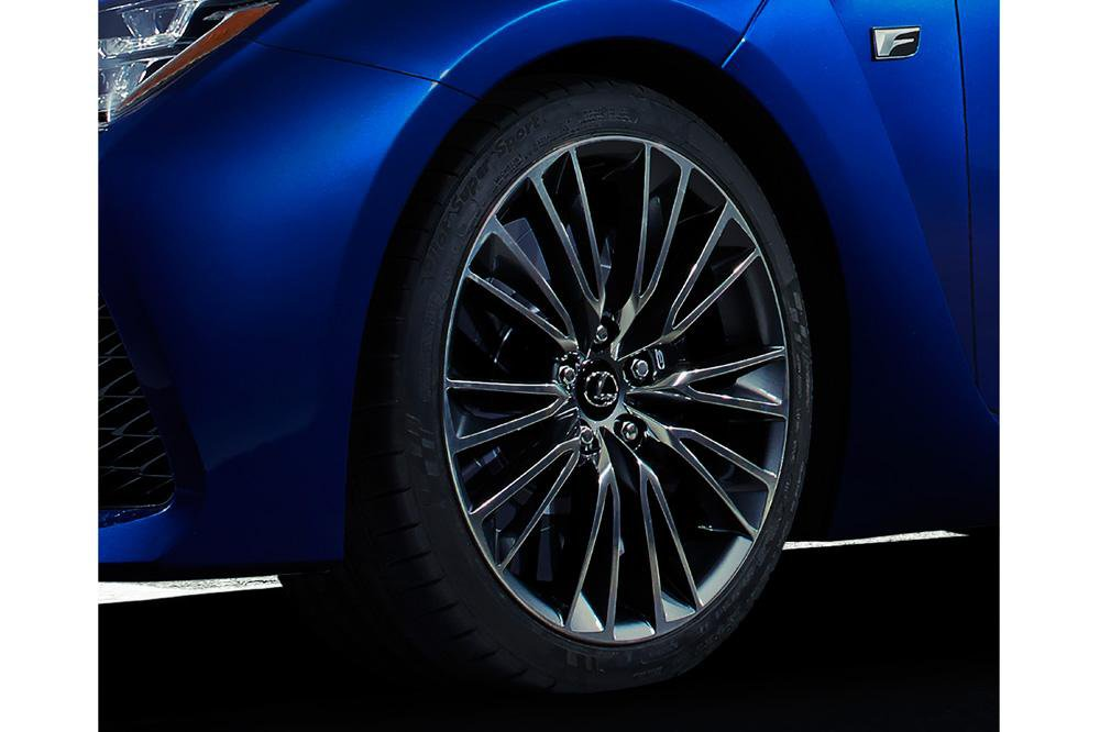 Lexus RC-F teased before making its Detroit show debut