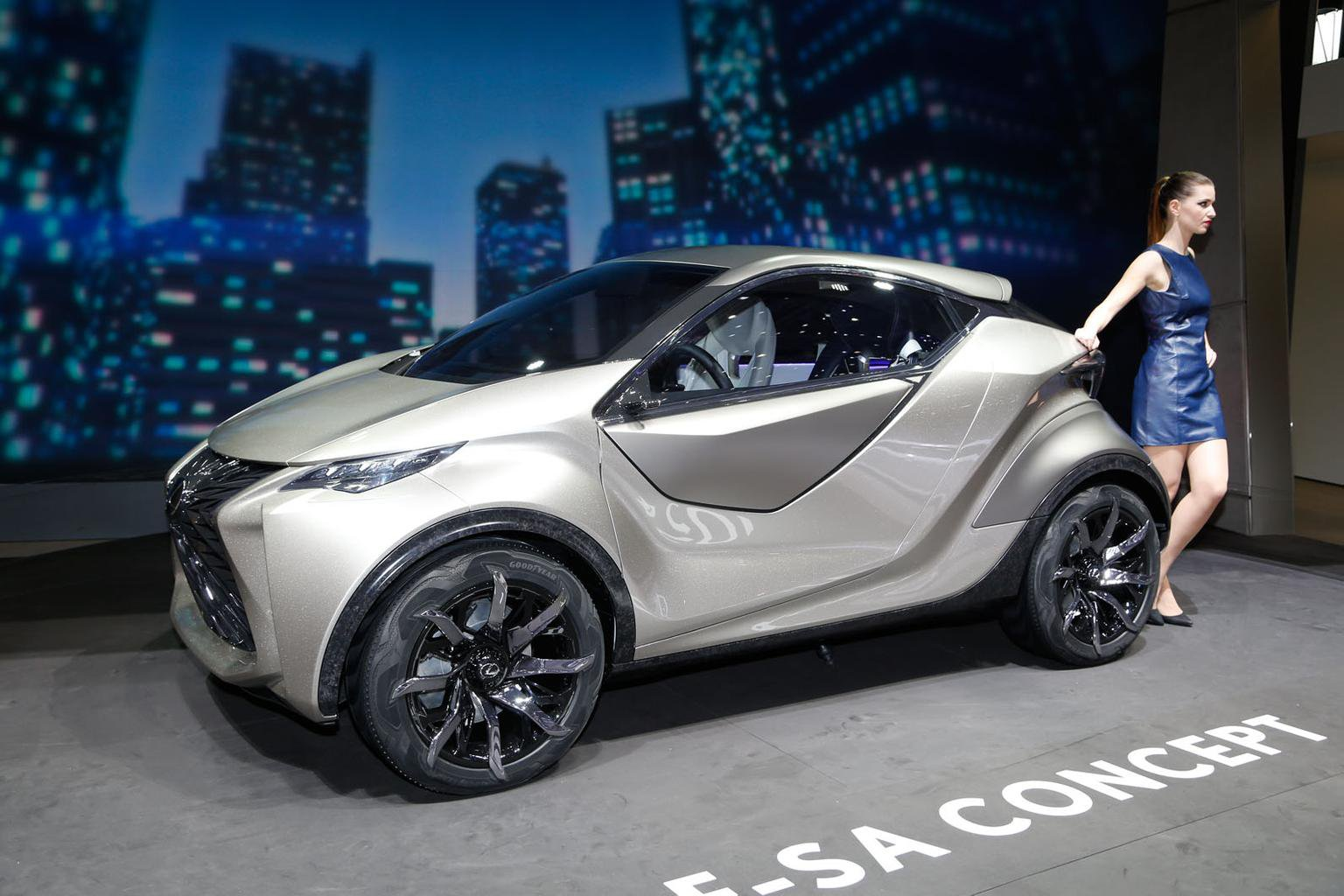 Lexus LF-SA concept at the Geneva motor show