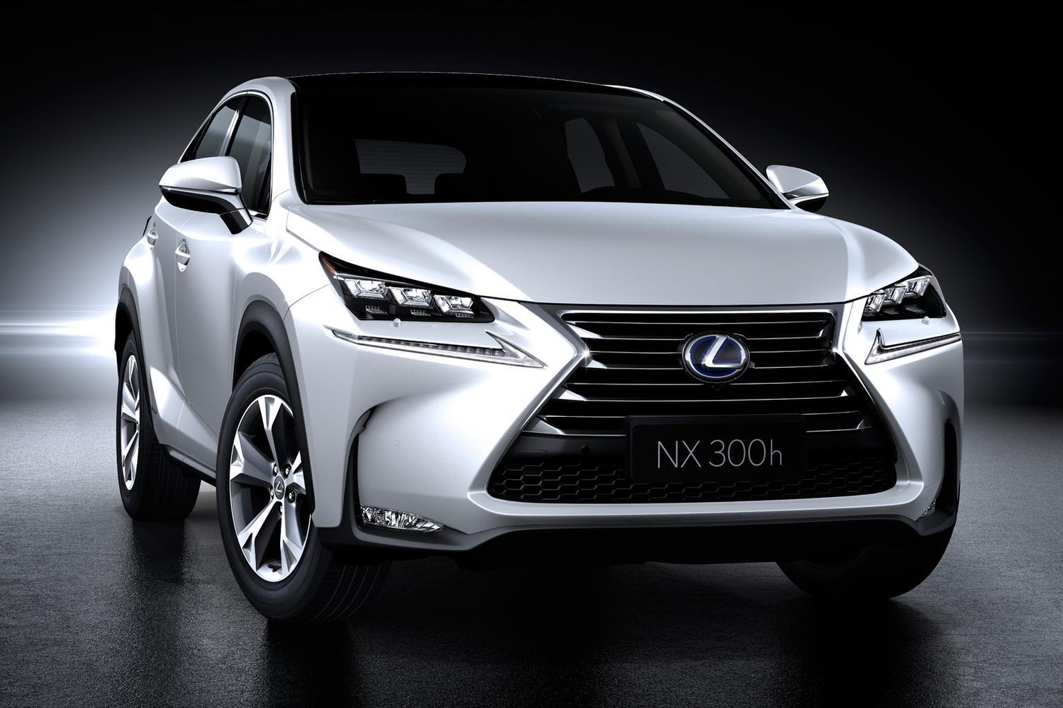 Lexus NX revealed ahead of Beijing debut