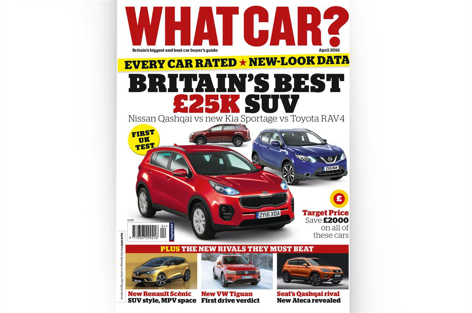 New What Car? magazine on sale this week