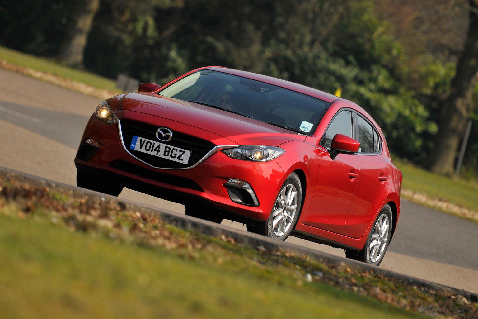 Our cars: Mazda 3, Nissan Qashqai, Hyundai i10 and Kia Carens