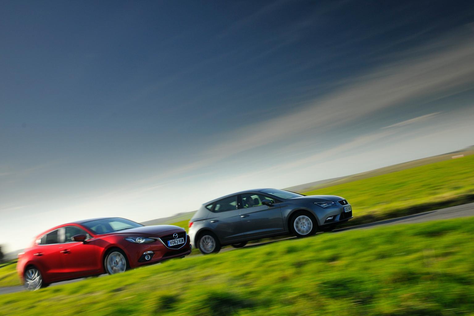 Mazda 3 vs Seat Leon