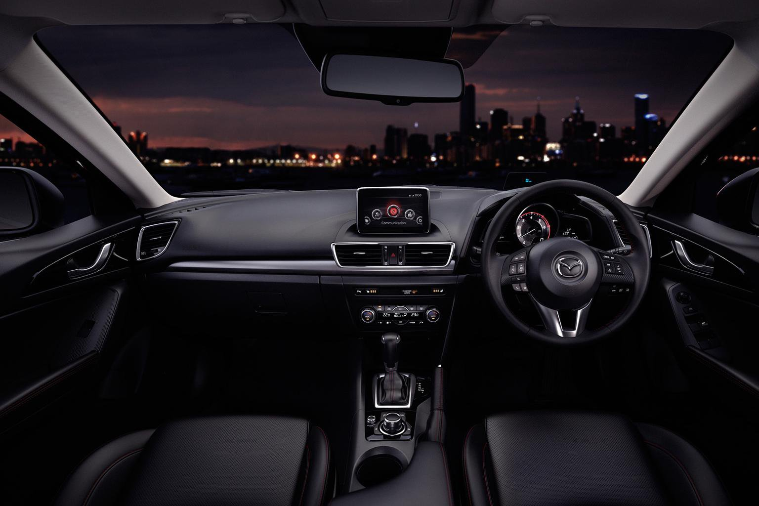 A cockpit tour of the all-new Mazda3