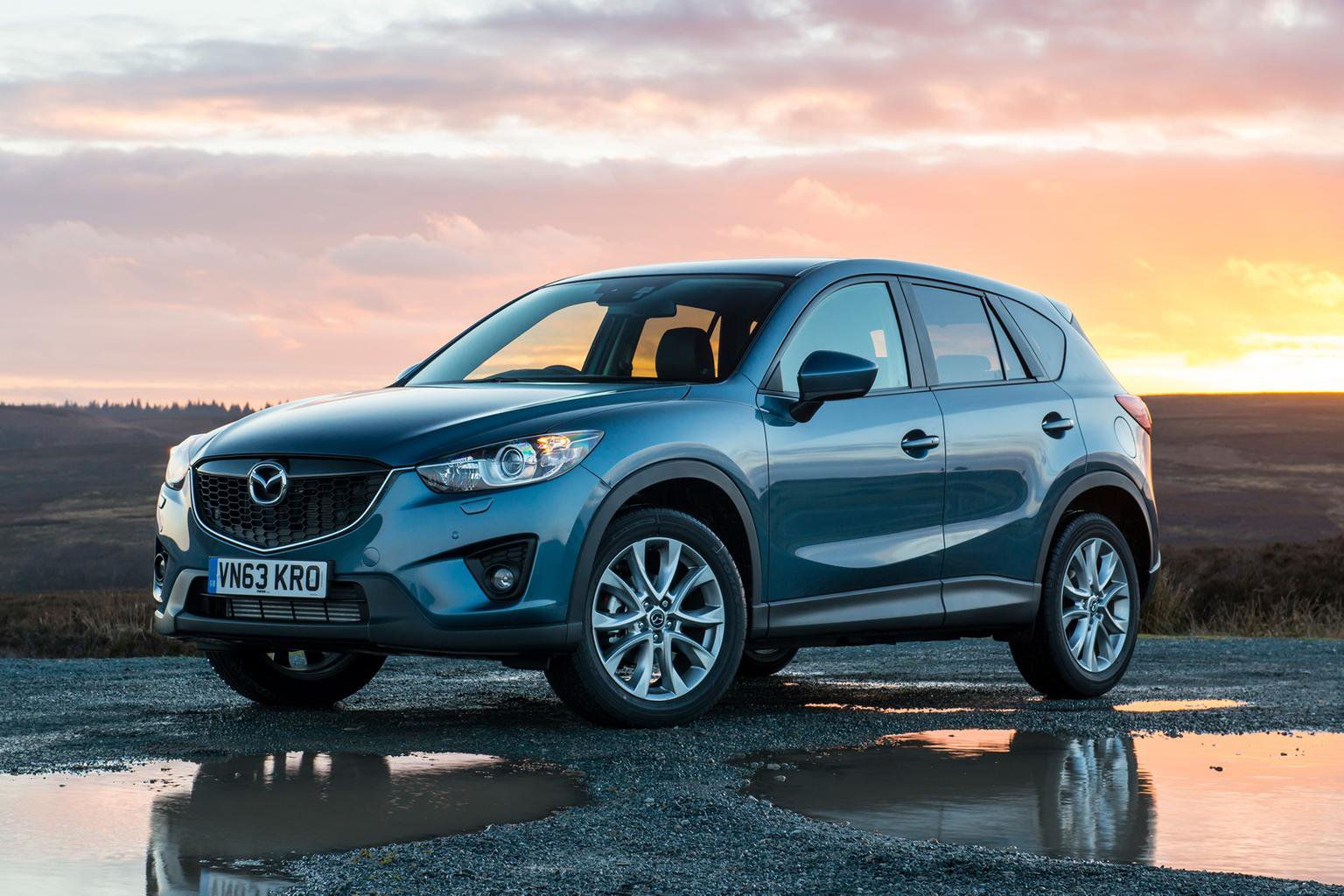 Mazda CX-5 ride and refinement improved for 2014
