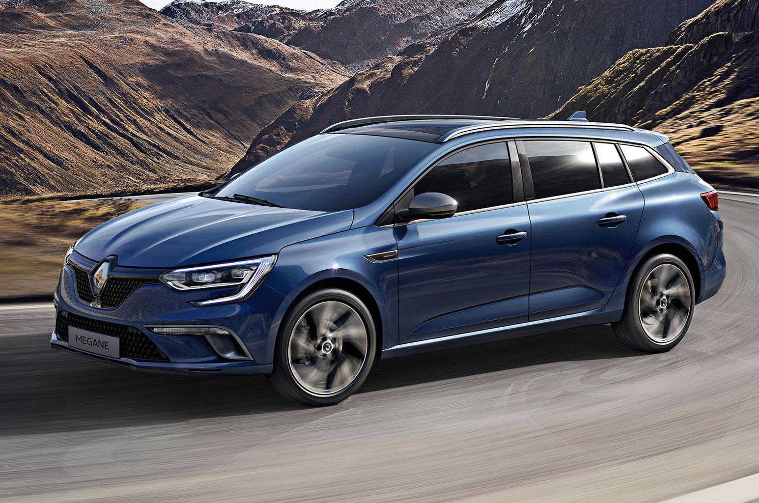 2016 Renault Megane Sport Tourer unveiled