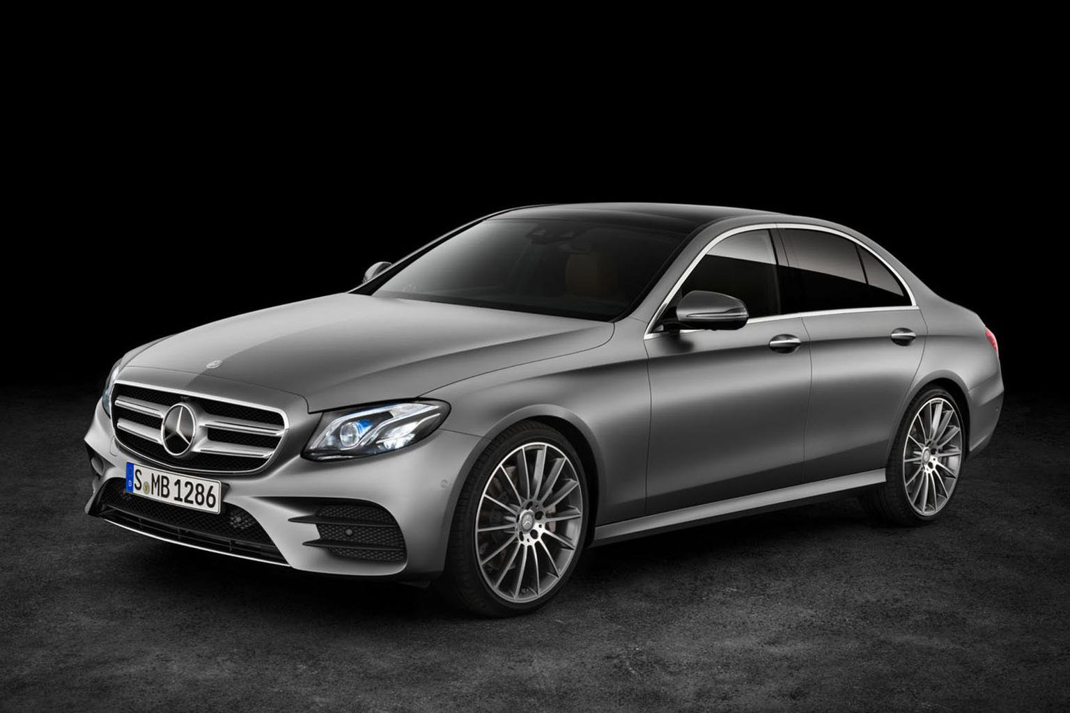 Revealed: pictures and engine details for new Mercedes-Benz E-Class