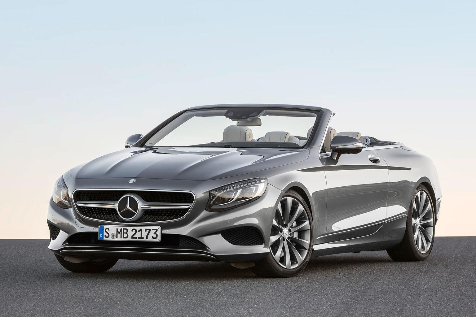 2016 Mercedes-Benz S-Class Cabriolet pricing announced