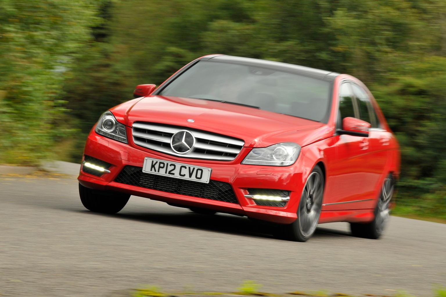 Used Mercedes C-Class from 16k