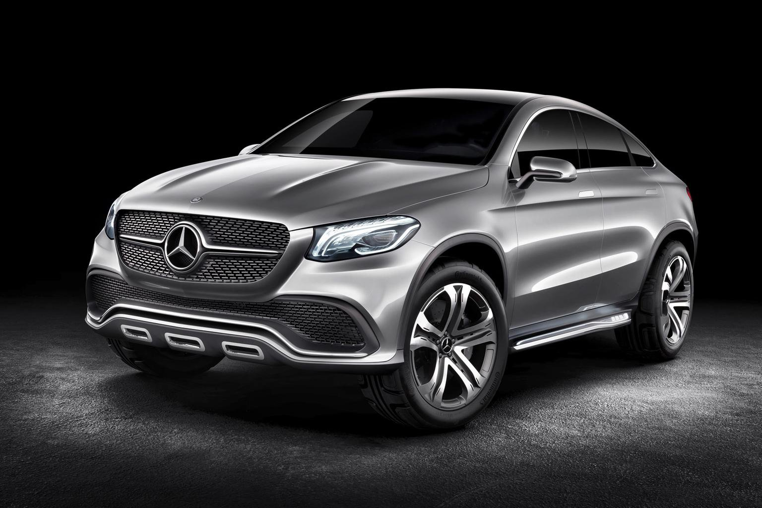 Mercedes' X6 rival previewed by SUV concept