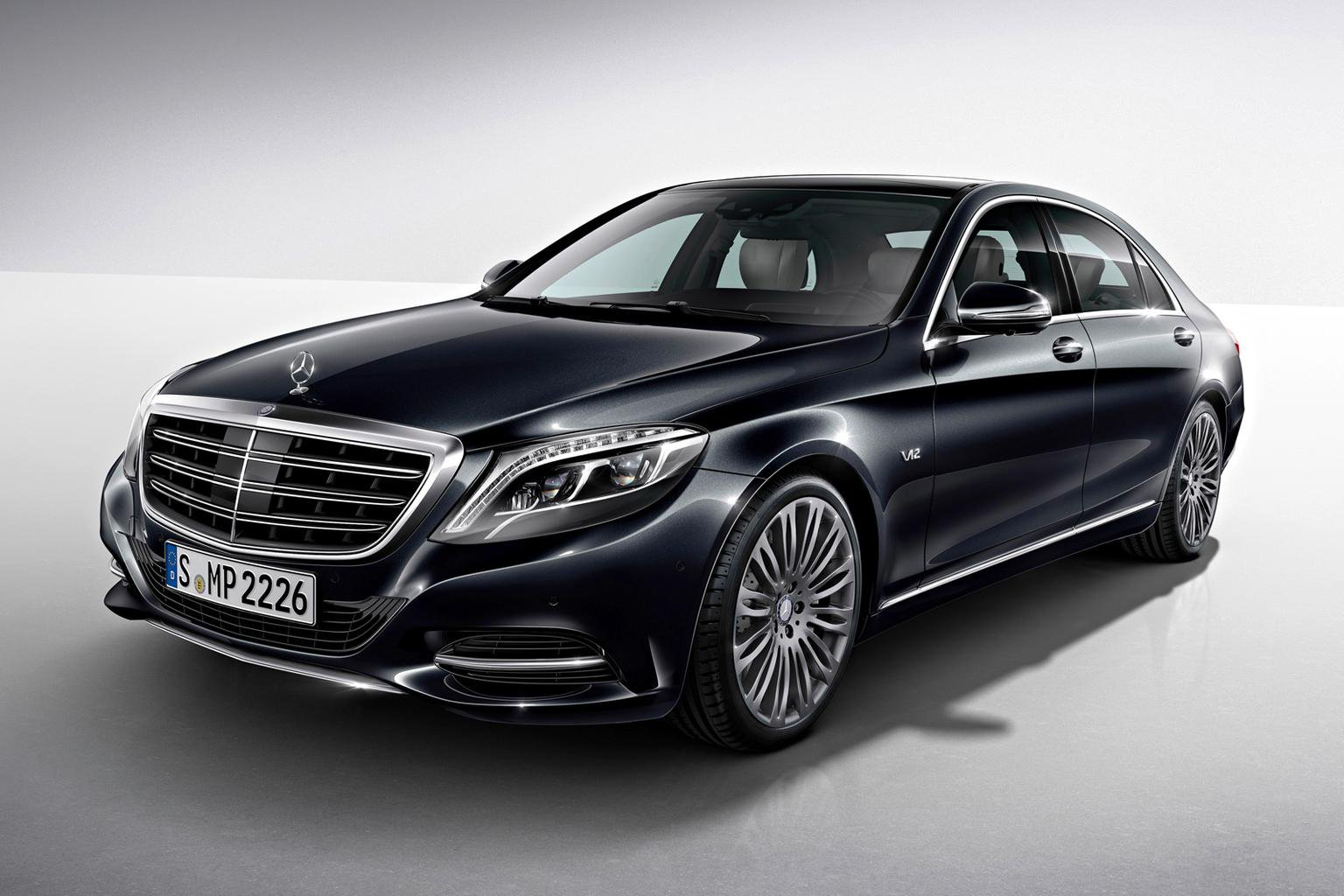 Mercedes launches new V12 S600 limo