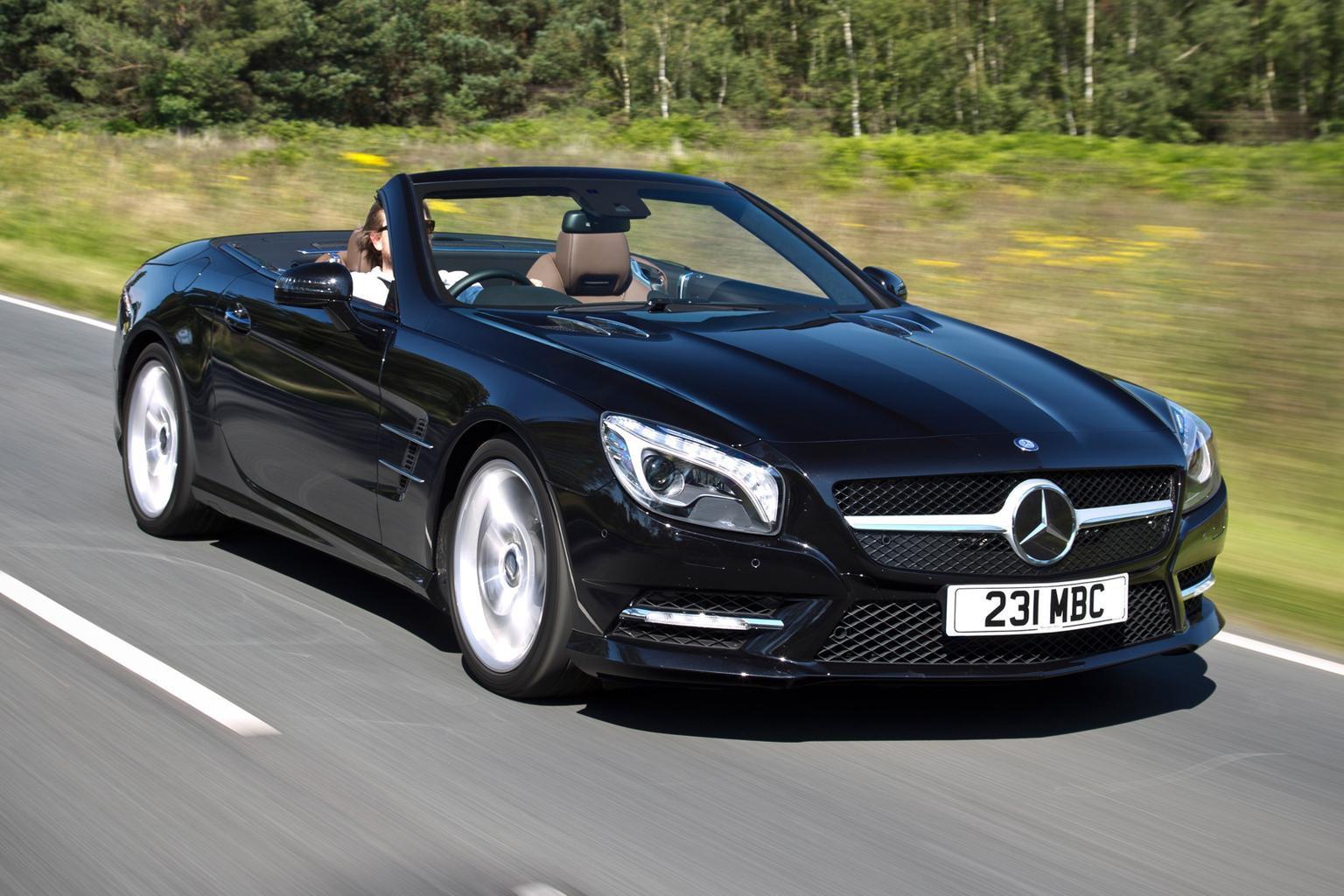 News round-up: Mercedes SL400 on sale, plus Bentley reveals its first hybrid concept