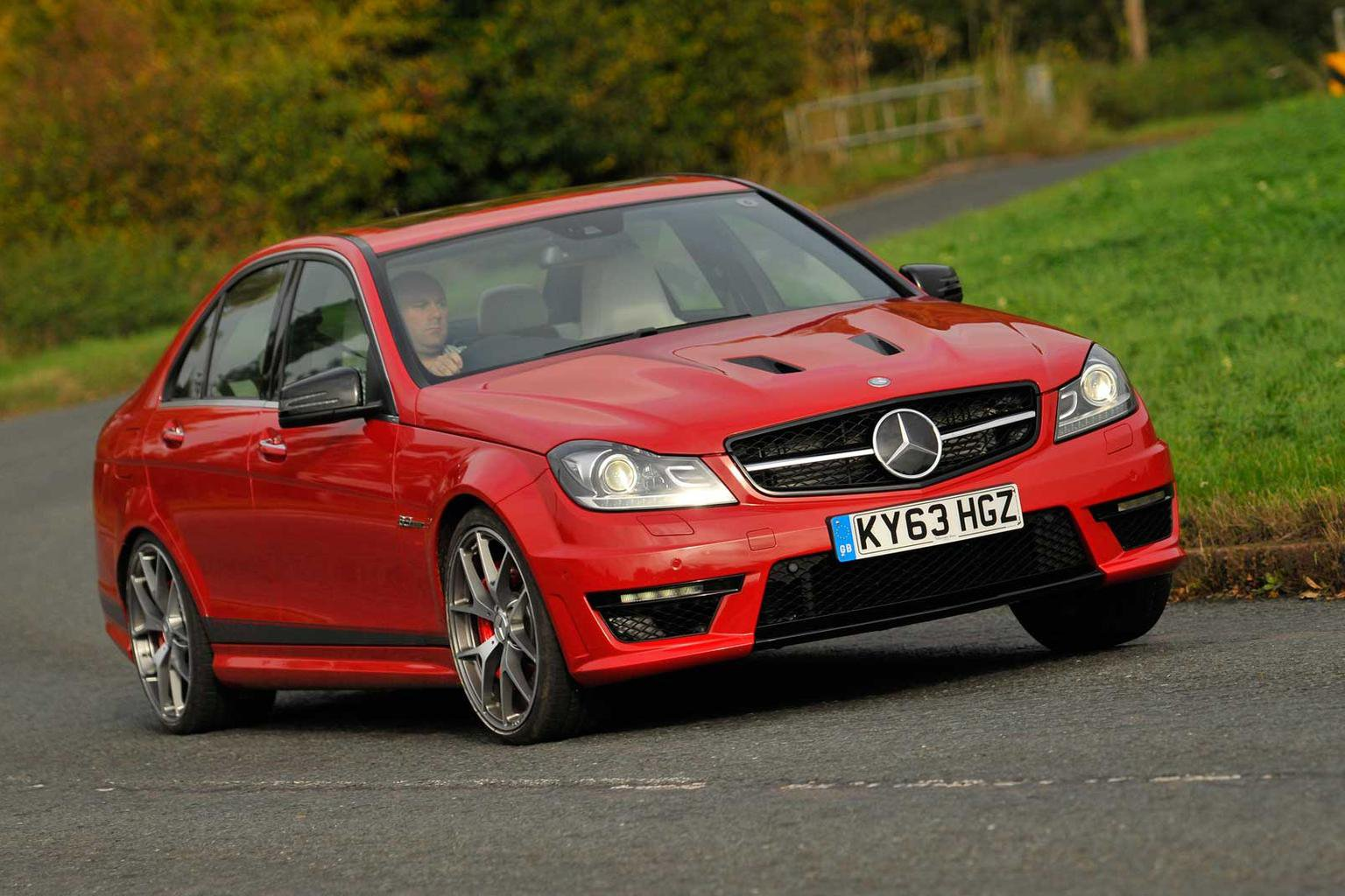 2013 Mercedes-Benz C63 AMG Edition 507 review