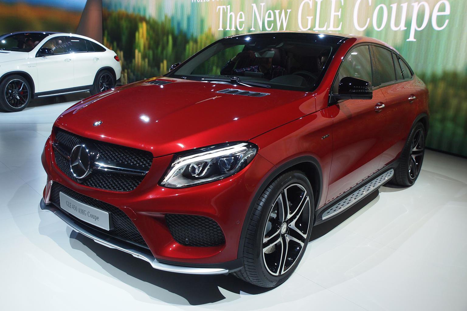 2015 Mercedes-Benz GLE Coupe - new pictures, on-sale date and engine details