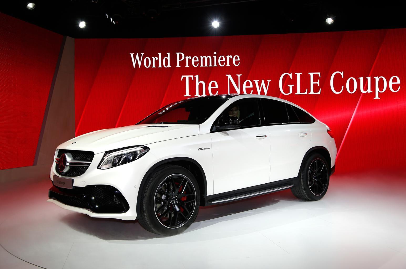 2015 Mercedes GLE63 AMG revealed at Detroit show