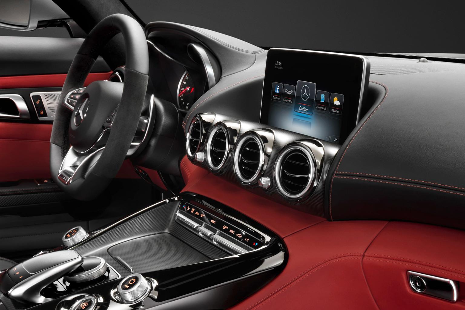 2014 Mercedes-AMG GT interior revealed